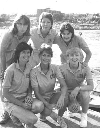 Vintage Regatta Crew