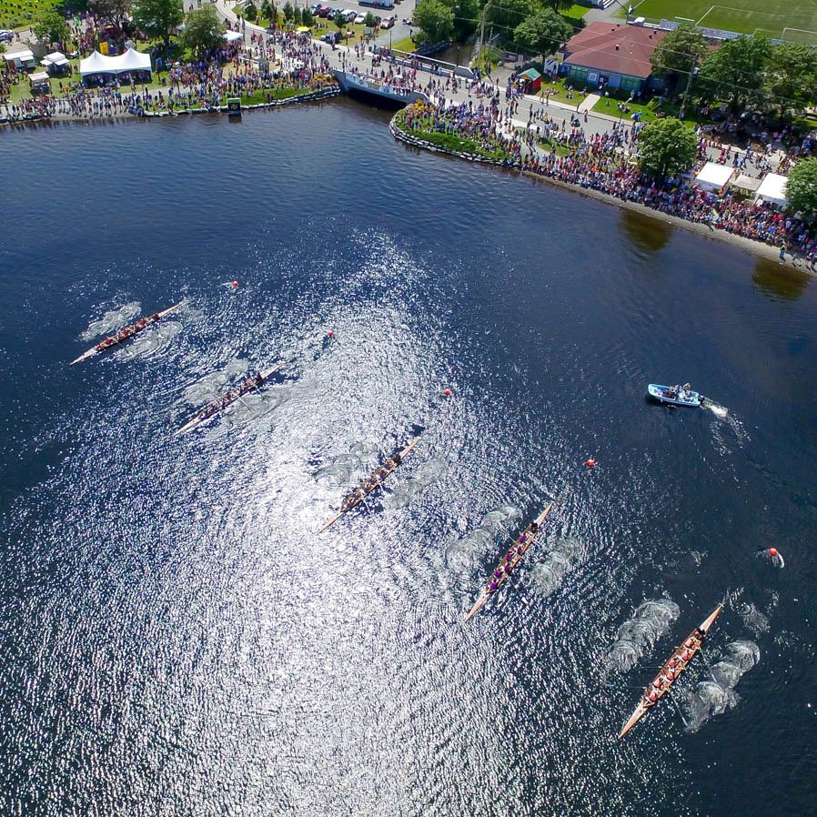 Overhead Quidi Vidi Race Start