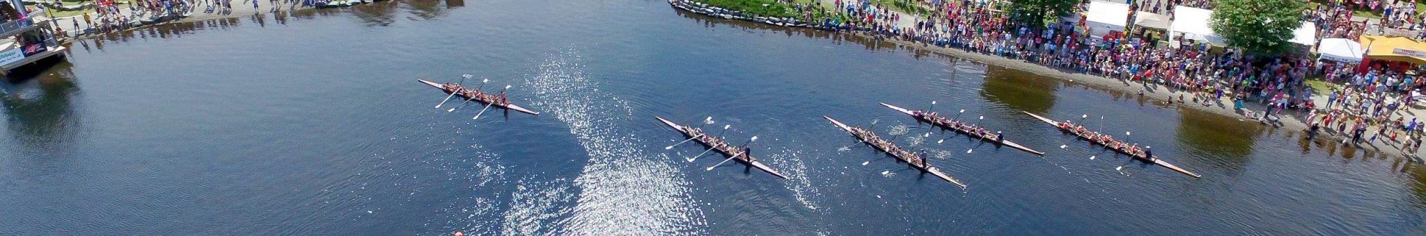 Royal St. John's Regatta Day Rowing Turn