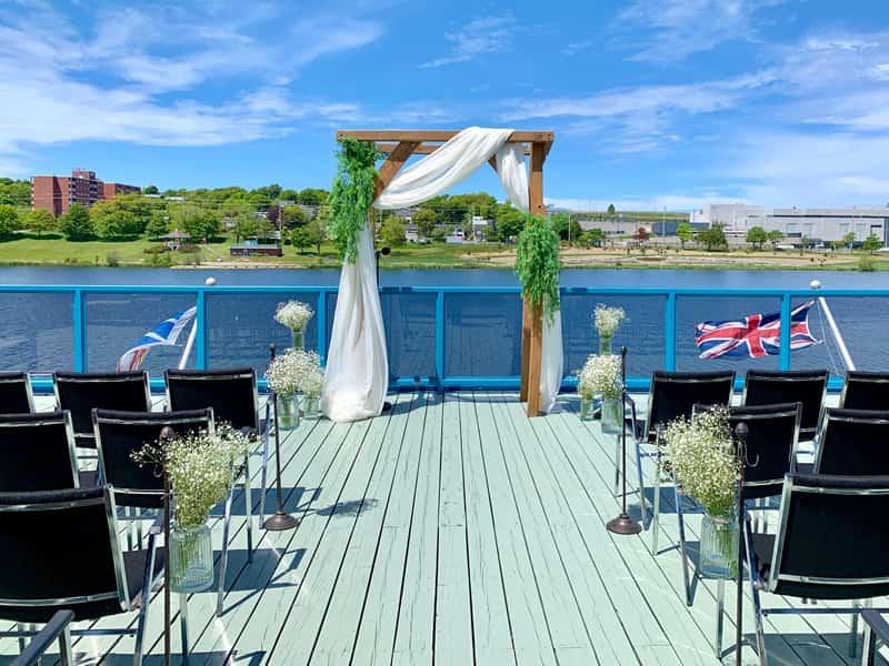 boathouse museum wedding
