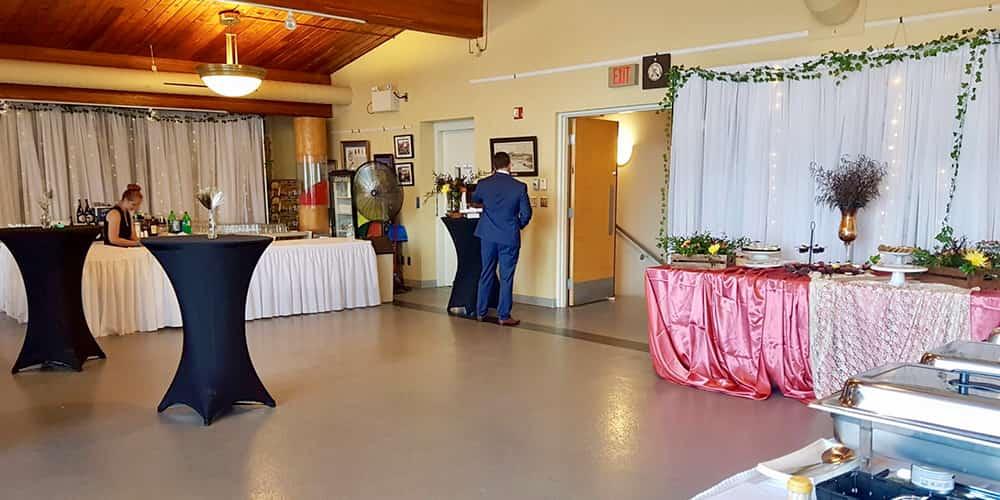 boathouse museum wedding banquet
